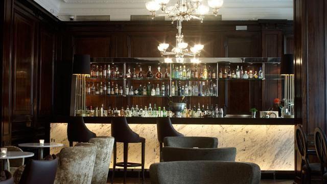 good godfreys bar in london - Beaded Inset Restaurant Interior