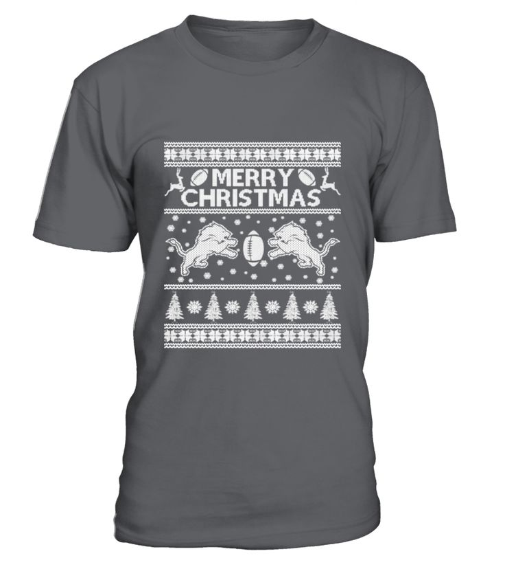 Christmas sweater for Detroit lions fan  Funny sweater for christmas T-shirt, Best sweater for christmas T-shirt