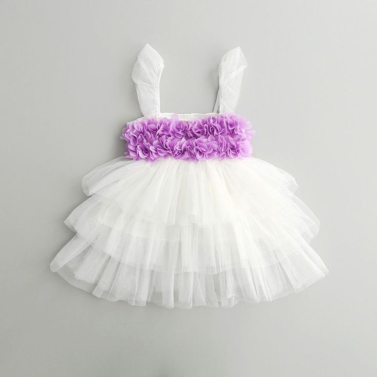Viola ~ Floral Tutu Dress