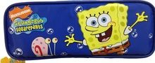 Spongebob Squarepants Plastic Pencil Case Pencil Box - With Gary Blue