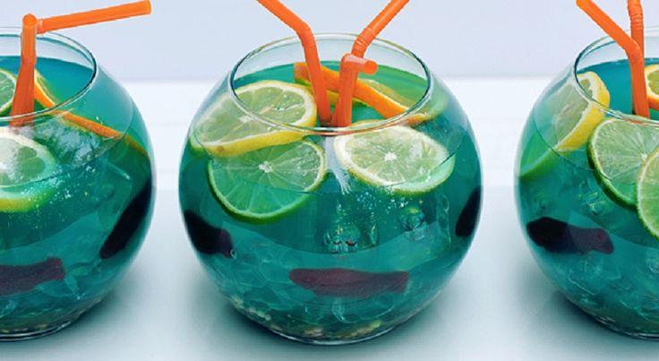 Le bocal de poissons (drink) - Trucs et Bricolages