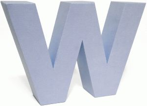 view design 70492 3d lowercase letter block w