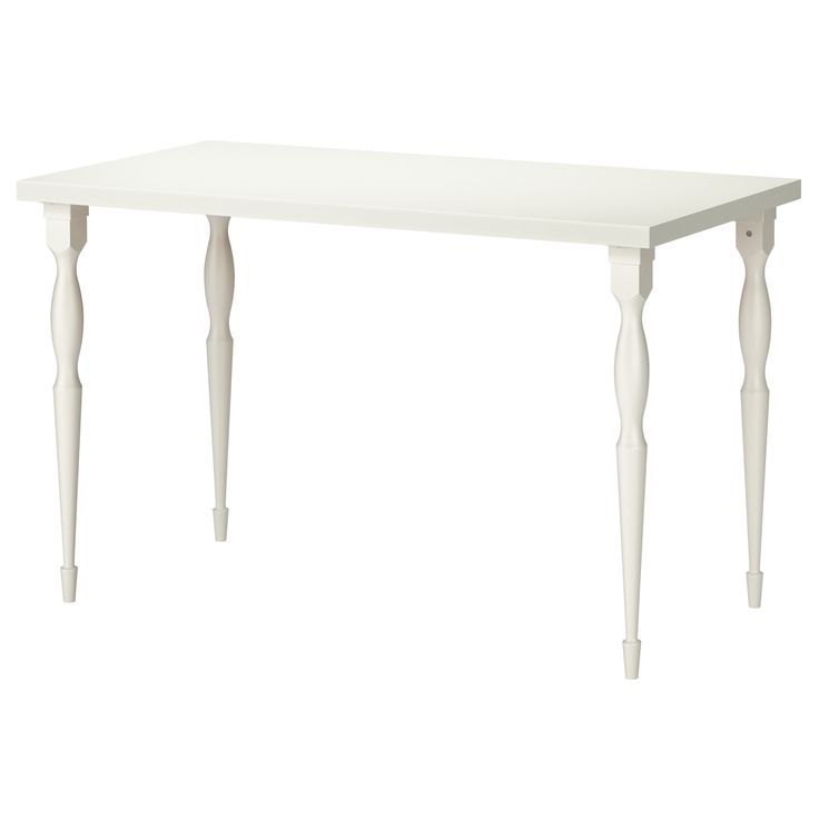 $85 LINNMON/NIPEN Table - white - IKEA