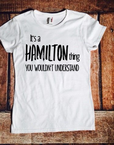 It's a Hamilton thing you wouldn't understand by MaryAndMaddy