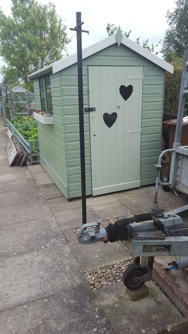 Ideas for painting your garden shed - Painted Shed