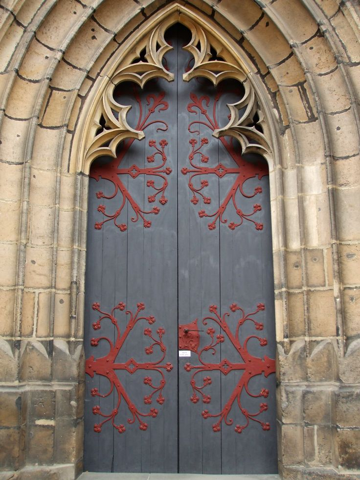 Meissen Cathedral Germany - 13th century - red accent - Gothic style & 336 best Arched Doors images on Pinterest | Arched doors Windows ... Pezcame.Com