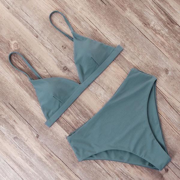 RUUHEE Bikini 2019 Swimwear Women's Swimsuit High Waist Bikini Set Push Up Bathing Suit Men's Beach Wear Maillot De Bain Biquini
