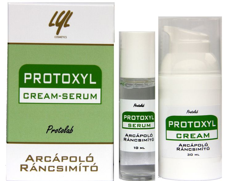 Lyl PROTOXYL szett most 5980 Ft - Protolab - Lyl Fitotéka - Protolab Kft. Wrinkle removal without injections or pain! PROTOXYL Cream and Active Serum eliminate wrinkles!