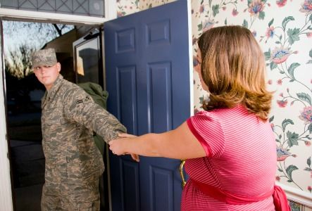 Military Wife Told Her Husband That She's Pregnant in the ...  |Pregnancy Fail Military Wife