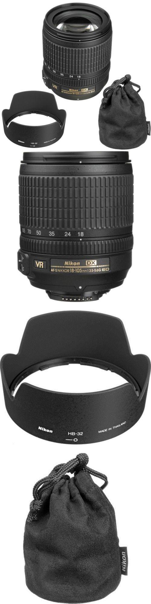 photo and video: Nikon Af-S Dx Nikkor 18-105Mm F 3.5-5.6G Ed Vr Lens -> BUY IT NOW ONLY: $209.99 on eBay!