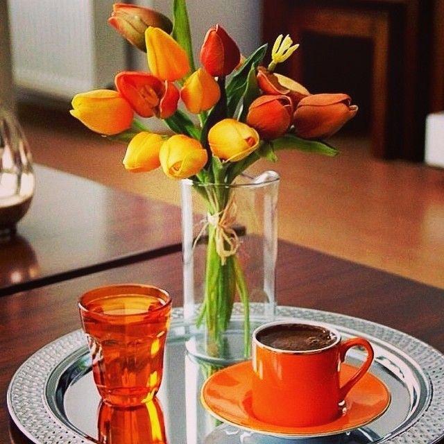En Şık Türk Kahvesi Sunumu Örnekleri - Sunum Önemlidir, Instagram Türk Kahvesi Sunumları (12)