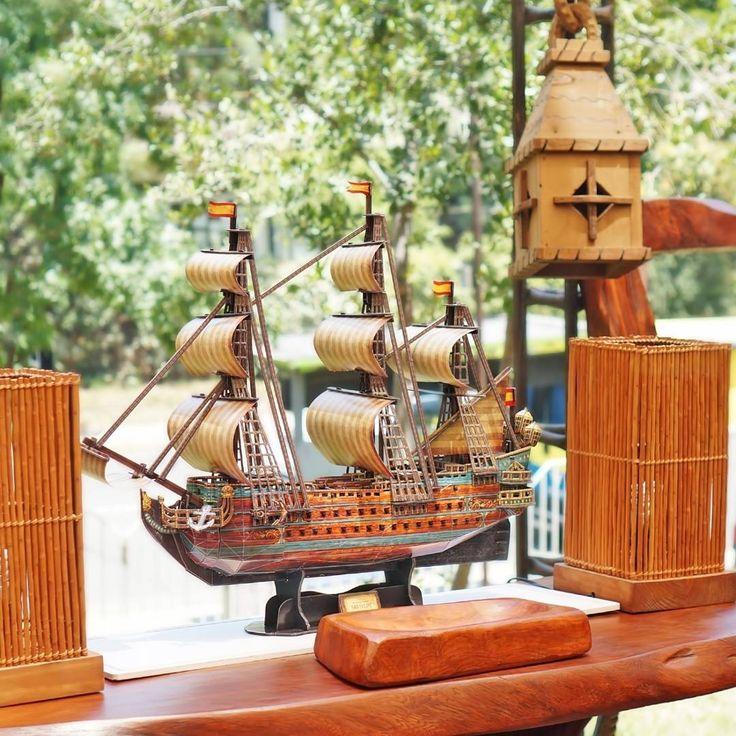 El #Sanfelipe de 248 piezas juntos con los muebles de madera nativa no taladas de #tremonativo fotografia tomada en #hogarboulevard por #cubicfunclub #cubicfun
