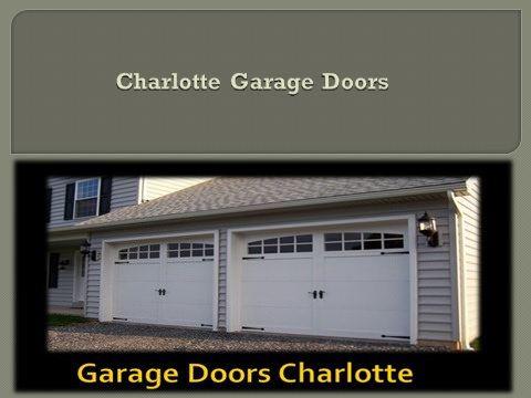 https://flic.kr/p/Dbvv6d | charlotte garage door company | Dial us at 704-800-1089    Fix your garage door today : www.slideserve.com/charlottegaragedoors