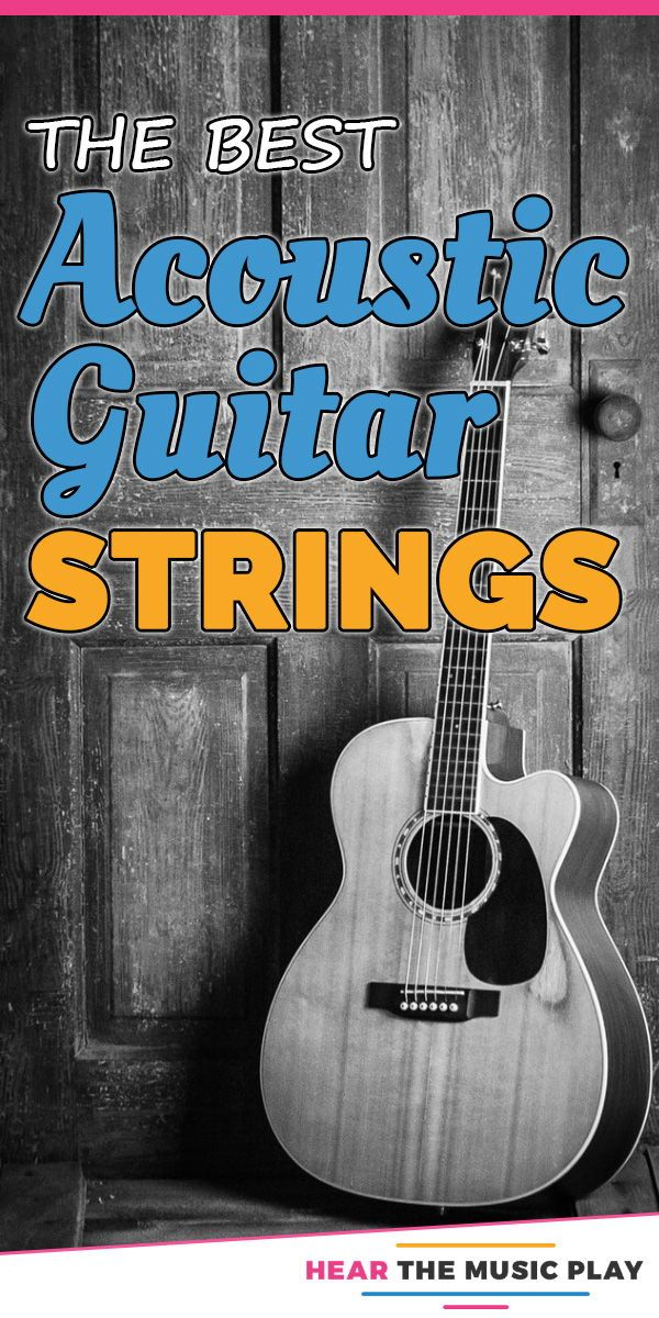 Strings Are The One Item That Acoustic Guitar Players Will Need To