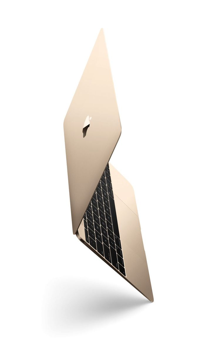 WANT!!! The new gold MacBook