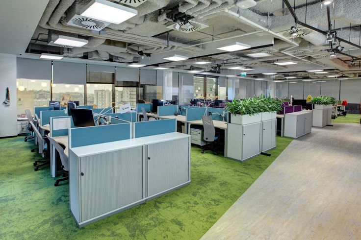 Open Plan Workplaces