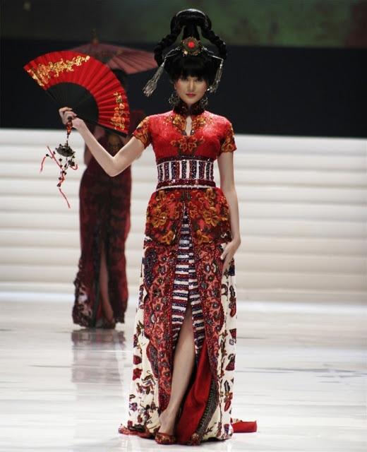 Chinese Kebaya - Nice Red