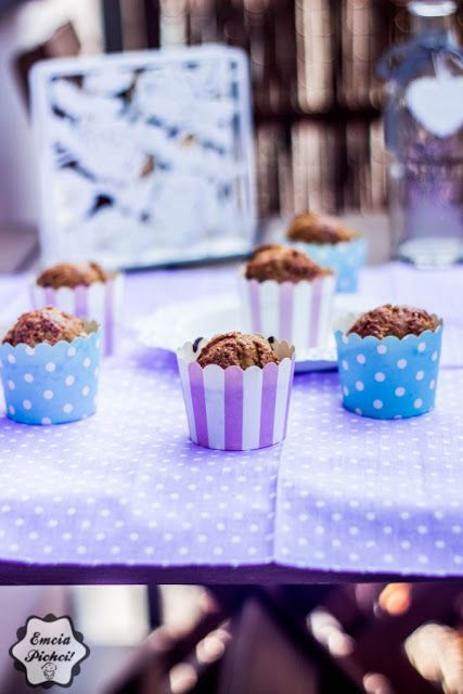 Emcia Pichci!: Muffiny z rabarbarem