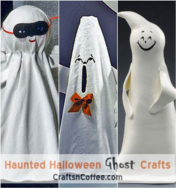 Halloween Ghost Crafts on Crafts 'n Coffee