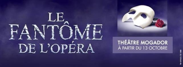Le Fantôme de l'Opéra : Entrez dans les coulisses du spectacle au théâtre Mogador http://xfru.it/ga69GT