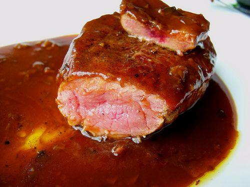 Me gusta mi comida :) carne de avestruz