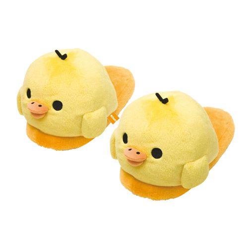 Jumbo Kiiroitori slippers <3 <3