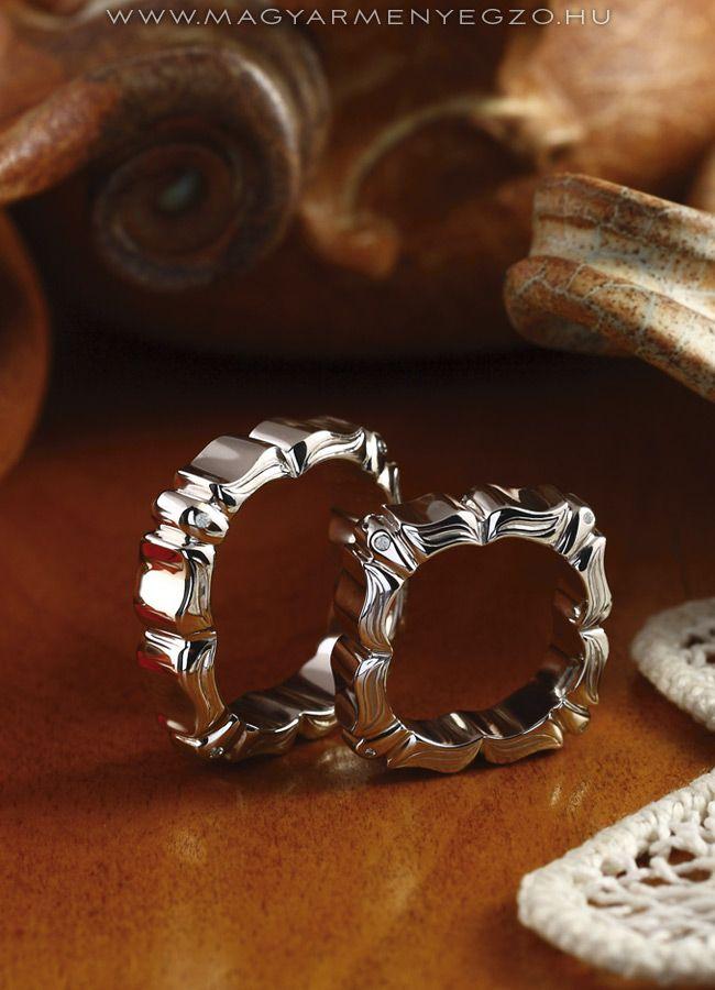 Tubarózsa - karikagyűrű - wedding ring - www.magyarmenyegzo.hu
