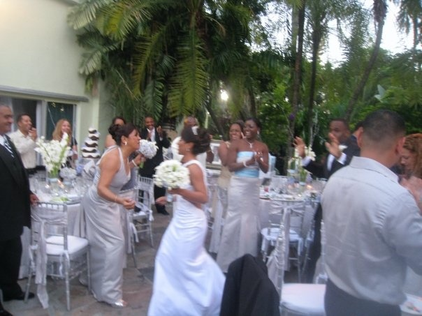 This Is How You Make An Entrance!! With Everyone On Their Feet. Infinity. Botanical  Gardens WeddingGarden WeddingInfinity WeddingMiami BeachWedding ...