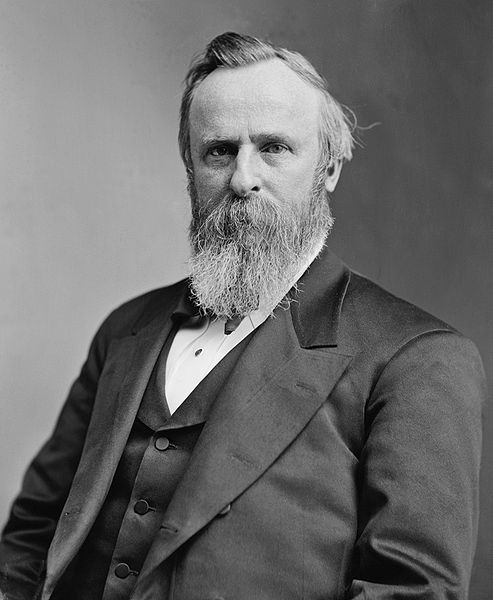 Rutherford B. Hayes the 19th President of the United States. Vice President: William A. Wheeler