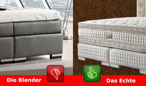 21 best boxspringbetten images on pinterest feathers luxury bedrooms and spring air. Black Bedroom Furniture Sets. Home Design Ideas