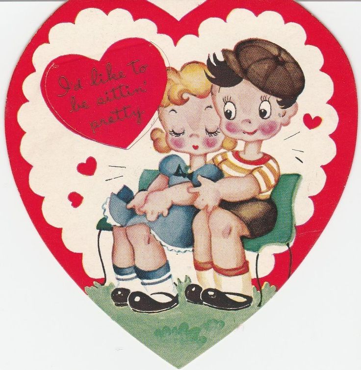 341 best images about Heart Paper Dolls – Heart Shaped Valentine Cards