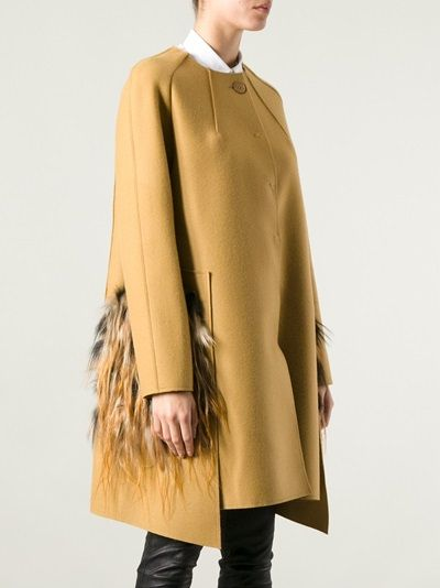 FENDI - fur pocket coat