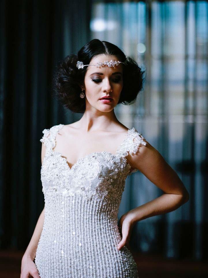 De Lanquez Bridal Jillian Gown ❤️ Photos by White Lily Couture