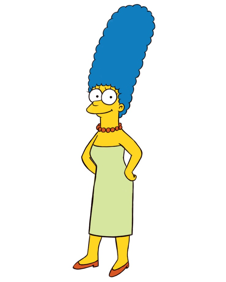 wikiHow to Draw Marge Simpson -- via wikiHow.com