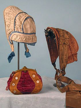 Ladies Civil War Era Accessories ... from a 2004 Whitaker Auction