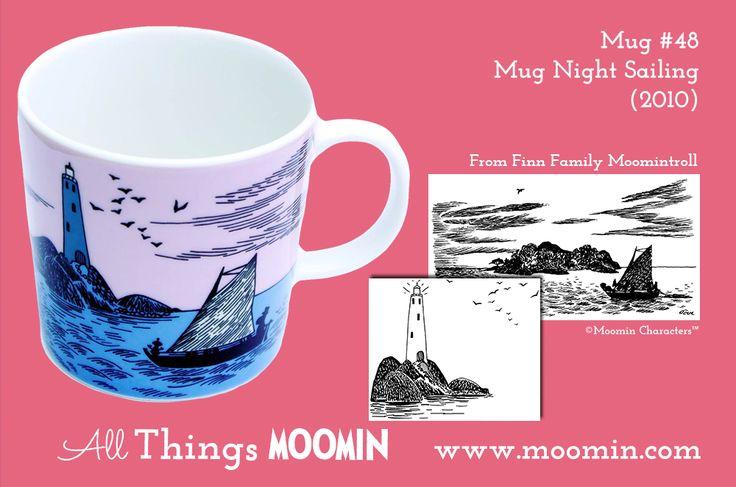 48 Moomin mug Night Sailing
