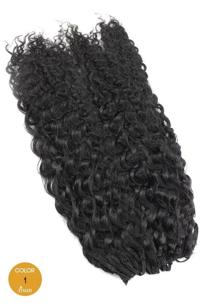Milkyway Saga 100 Human Hair Crochet Braiding Hair Super Curl