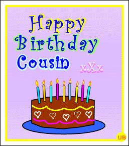 Cousin | ... Greetings for a Cousin * Free Animated eCards for Cousins & Family