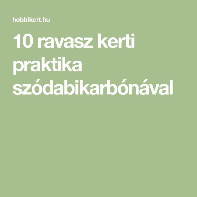 10 ravasz kerti praktika szódabikarbónával