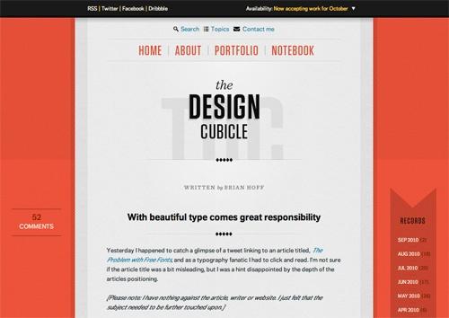 Expressive Web Typography: Useful Examples and TechniquesDesign Cubicles, Web Design, 30 Web, Design Ideas, Amazing Web, Blog Design, Website Design, Inspiration Webdesign, Cubicles Website