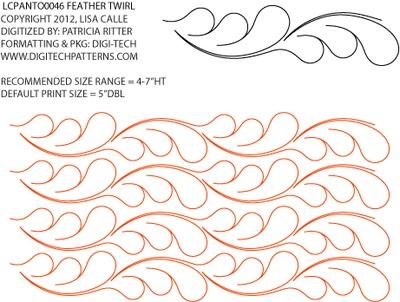 30 best Quilting Pantographs images on Pinterest   Free motion ... : free pantographs for quilting - Adamdwight.com
