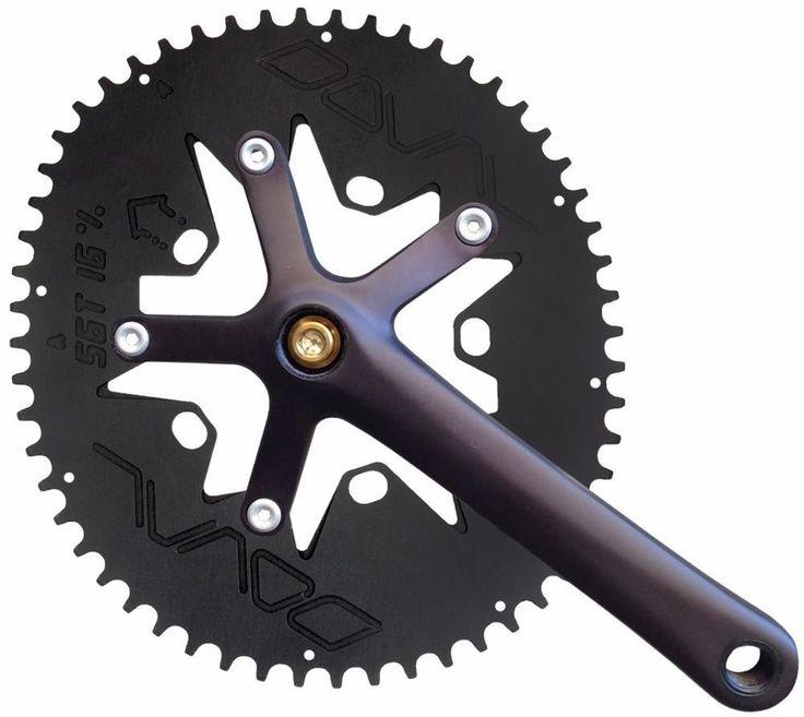 DOVAL Chainring Single  BCD110/130 for Minivelo/Brompton/Dahon/Folding bike/etc. #DOVAL