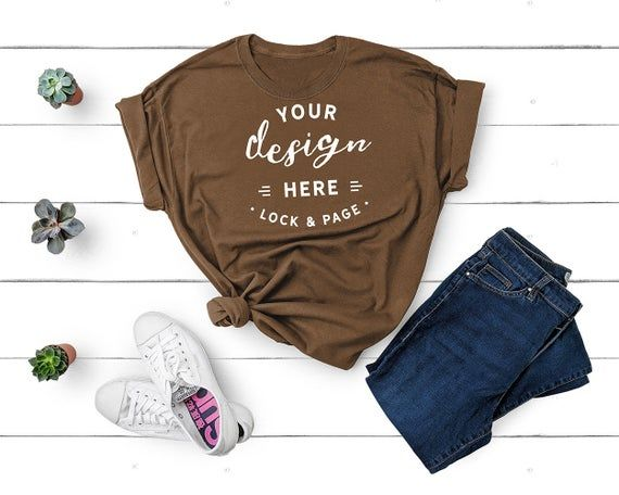 Download Free Gildan 5000 Chestnut Brown Unisex T Shirt Mockup Flat Lay Psd This Free T Shirt Template Features Fro In 2020 Shirt Mockup Free Packaging Mockup Mockup Free Psd
