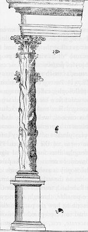 "The ""tree column"" of Philibert de l'Orme."