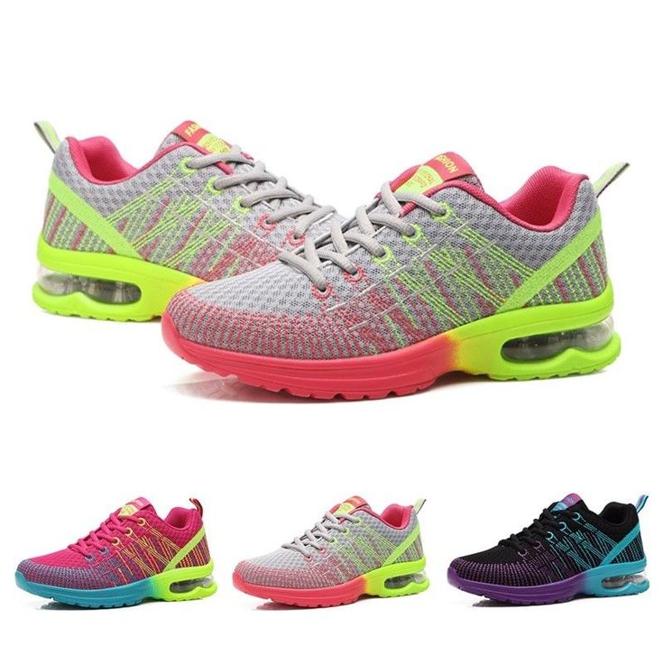 Womens Sports Shoes Casual Running Female Light Travelling Air Cushion Sneakers