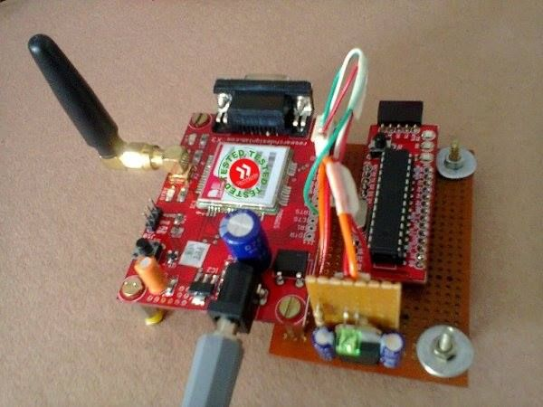 Complete home security system project
