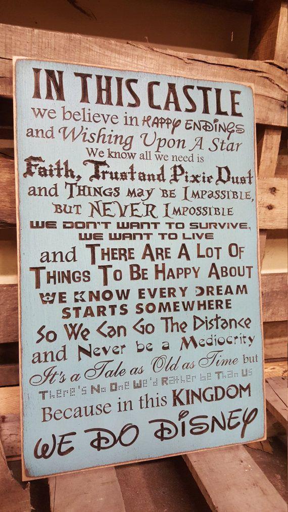 Die Regeln in meinem Schloß...