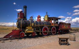 united states utah desert railroad steam engine vintage