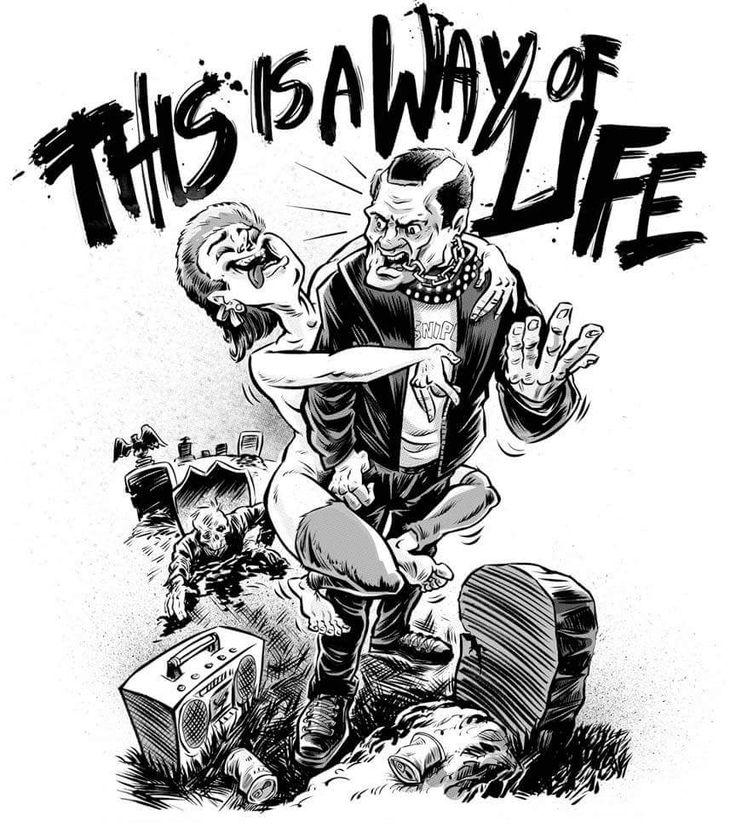 Trash & Suicide fan art | The Return of the Living Dead ...