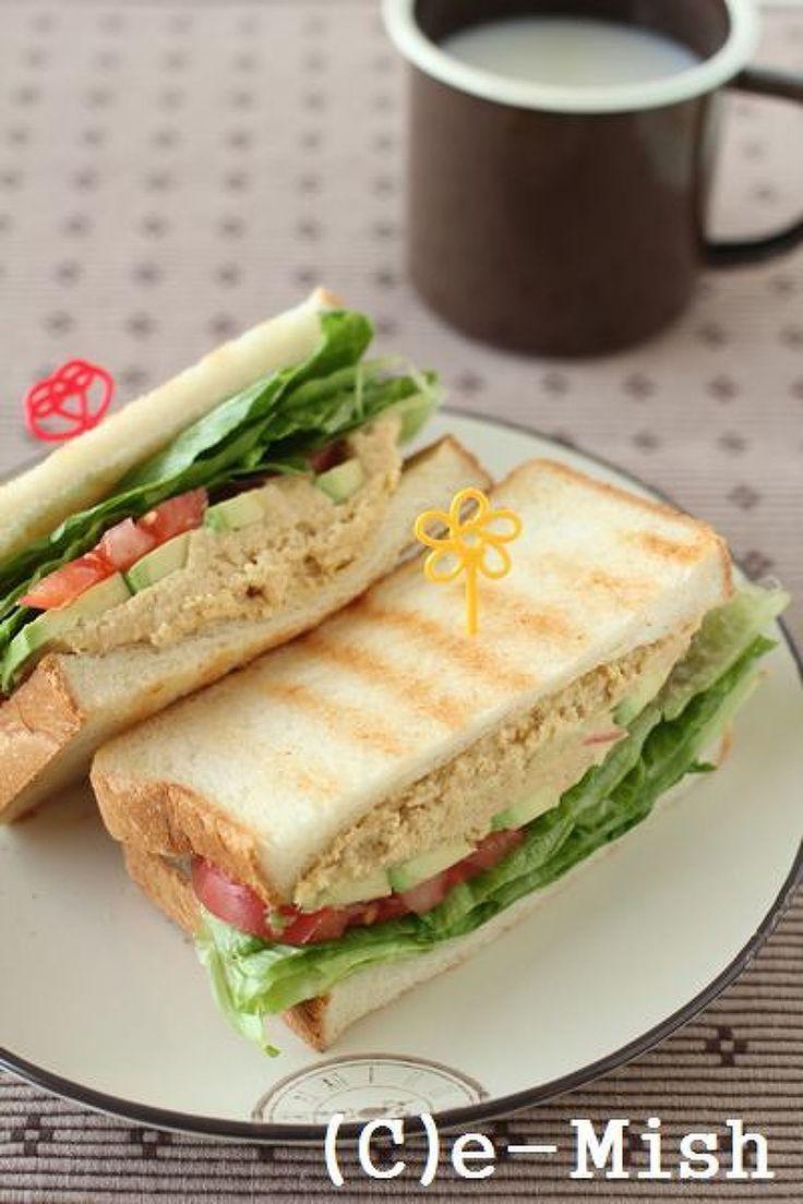 フムスと野菜のサンドイッチ by 柴田真希 | レシピサイト「Nadia | ナディア」プロの料理を無料で検索